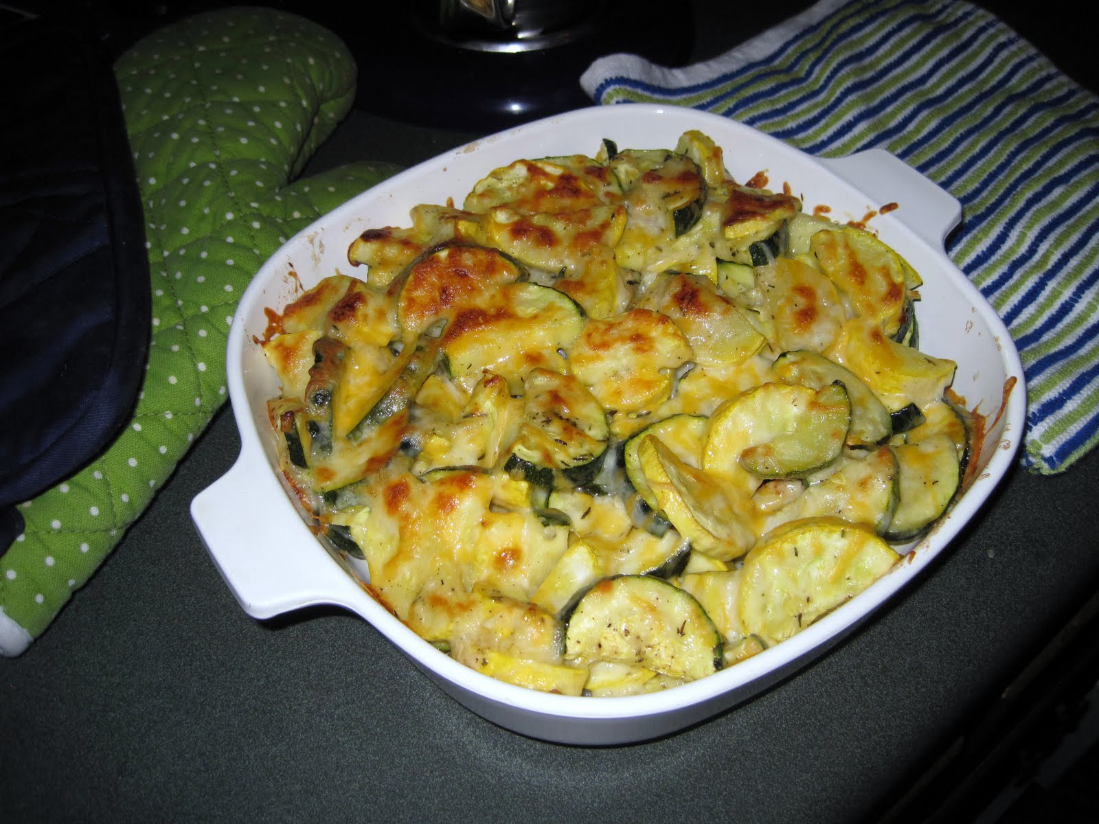 Easy Cheesy Zucchini Bake Recipe — Dishmaps