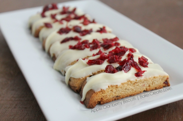 Apple Cranberry Biscotti - Bake. Create. Love. 3