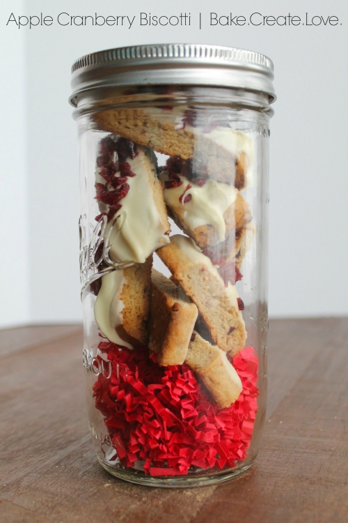 Apple Cranberry Biscotti - Bake. Create. Love. 5