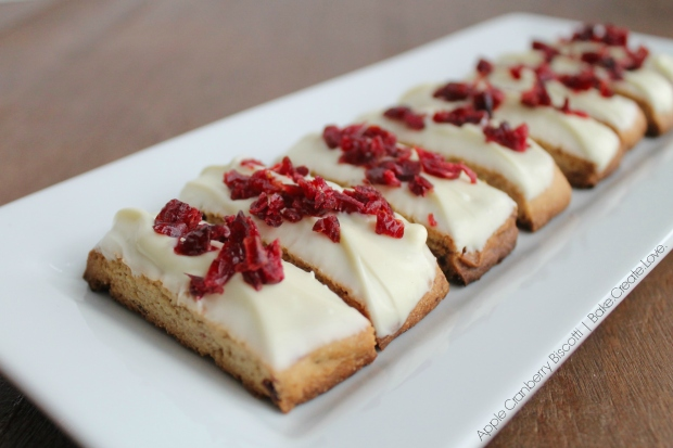 Apple Cranberry Biscotti - Bake. Create. Love. 7