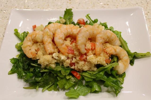 Bake. Create. Love. Shrimp Couscous Salad 1