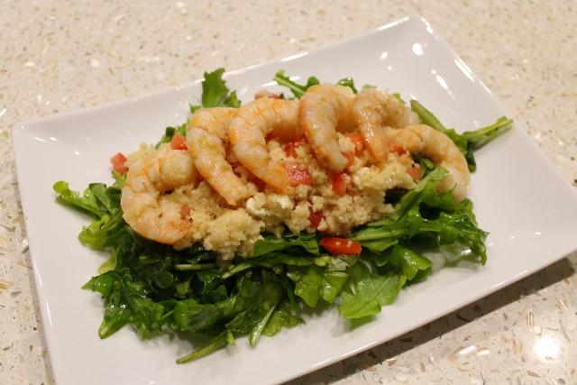 Bake. Create. Love . Shrimp Couscous Salad