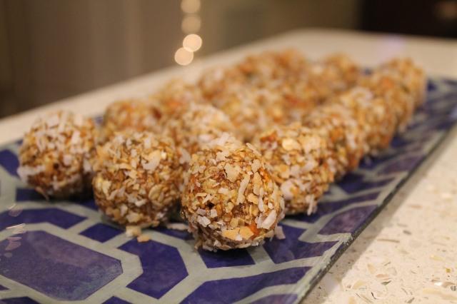 Carrot Cake Energy Balls | Bake. Create. Love.