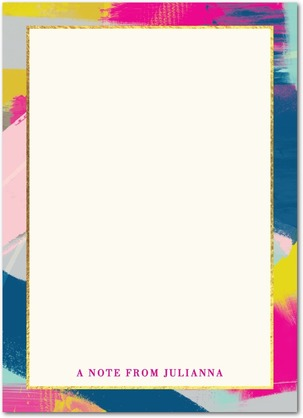 bold_overlap-personalized_notepads-hello_little_one-fuchsia-pink